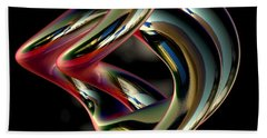 Twisted Abstract 2 Hand Towel