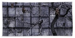 Bath Towel featuring the photograph Twisted Decay - Abstract Metaphor  by Steven Milner