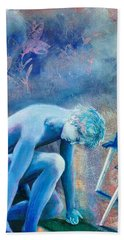 Two Of Swords Hand Towel
