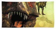 Tyrannosaurus Rex 4 Bath Towel by Bob Orsillo
