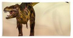 Tyrannosaurus Rex Dinosaur  Hand Towel by Bob Orsillo