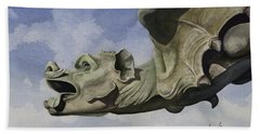 Ulmer Munster Gargoyle Bath Towel