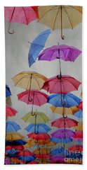 Umbrellas Hand Towel