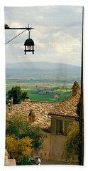Umbrian Countryside Viewed Through An Bath Towel
