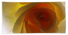 Hand Towel featuring the photograph Unaltered Rose by Robyn King