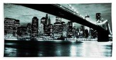 Under The Bridge Hand Towel by Pennie  McCracken