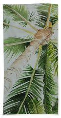 Under The Palm Hand Towel