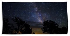 Under The Stars At The Grand Canyon  Bath Towel