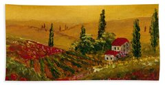Under The Tuscan Sun Hand Towel by Darice Machel McGuire