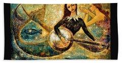 Undersea Hand Towel by Shijun Munns