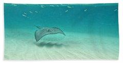 Underwater Flight Hand Towel