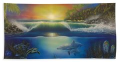 Underwater Paradise Bath Towel