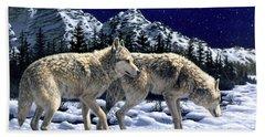Wolves - Unfamiliar Territory Hand Towel
