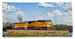 Union Pacific Railroad 2 Bath Towel