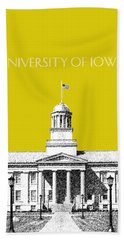 University Of Iowa - Mustard Yellow Hand Towel