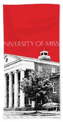 University Of Mississippi - Red Hand Towel