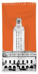 University Of Texas - Coral Hand Towel