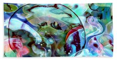Crystal Blue Persuasion Hand Towel
