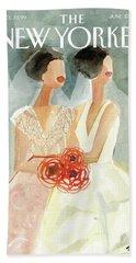 June Brides Hand Towel