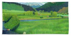 Upper Bear Creek Colorado Hand Towel