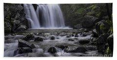 Upper Crystal Creek Falls  Hand Towel