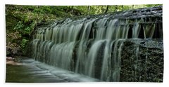 Upper Falls At Stillhouse Hollow Hand Towel