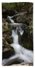 Upper Pup Creek Falls Bath Towel