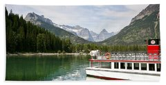 Bath Towel featuring the photograph Upper Waterton Lakes by Teresa Zieba