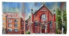 Ursuline Academy With Doves Hand Towel