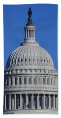 Us Capitol Dome Hand Towel