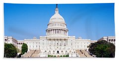 Us Capitol, Washington Dc, District Of Hand Towel