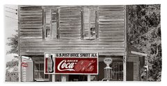 U.s. Post Office General Store Coca-cola Signs Sprott  Alabama Walker Evans Photo C.1935-2014. Bath Towel