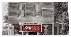 U.s. Post Office General Store Coca-cola Signs Sprott  Alabama Walker Evans Photo C.1935-2014. Bath Towel