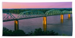 Usa, Missouri, High Angle View Bath Towel