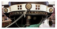 Uss Constellation Hand Towel