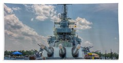 Uss North Carolina Bath Towel