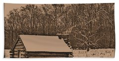 Valley Forge Winter 1 Hand Towel