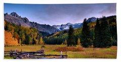 Valley Of Mt Sneffels Hand Towel