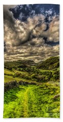 Valley View Bath Towel by Steve Purnell