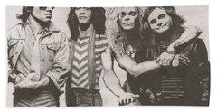 Van Halen Hand Towel by Jeff Ridlen