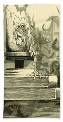 Bougie Hand Towel by Julio Lopez