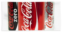 Various Coke Cola Cans Bath Towel