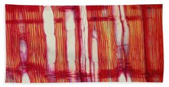Vascular Rays And Vessel Elements Hand Towel