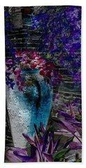 Vase Bath Towel by Athala Carole Bruckner