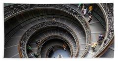 Vatican Spiral Staircase Bath Towel