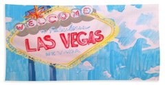 Vegas Bath Towel