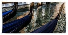 Venetian Gondolas Hand Towel