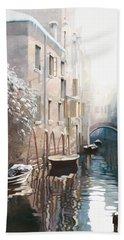 Venezia Sotto La Neve Bath Towel