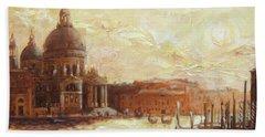 Venice - Santa Maria Della Salute Hand Towel
