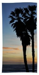 Ventura Palm Sunset Hand Towel